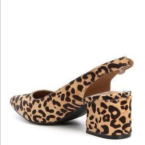 5f8b8aa83bc Steve Madden Shoes - Steve Madden Dizzy Leopard block heel